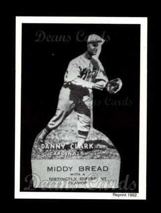 1927 Middy Bread Reprint #6  Danny Clark