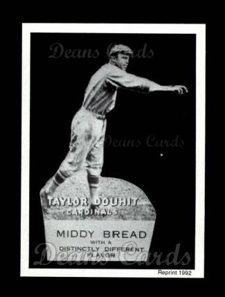 1927 Middy Bread Reprint #7  Taylor Douthit