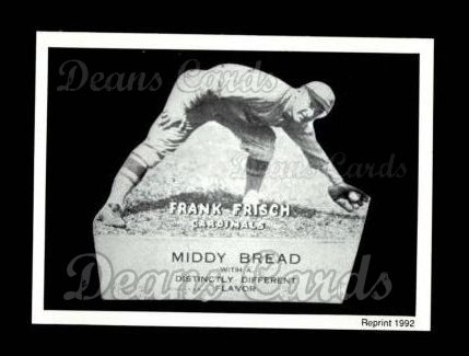 1927 Middy Bread Reprint #8  Frank Frisch