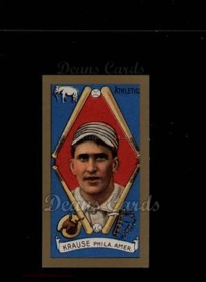 1911 T205 Reprint #106  Harry Krause