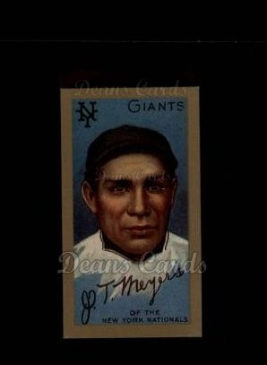 1911 T205 Reprint #136  J.T. Meyers