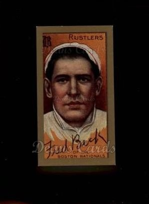 1911 T205 Reprint #14  Fred Beck