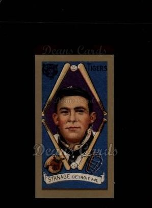 1911 T205 Reprint #181  Oscar Stanage
