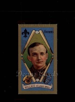 1911 T205 Reprint #197 xCAP Bobby Wallace