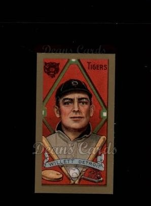 1911 T205 Reprint #203  Ed Willett