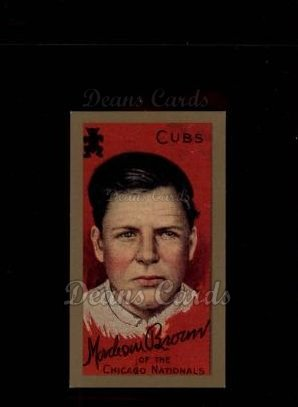 1911 T205 Reprint #26  Mordecai Brown