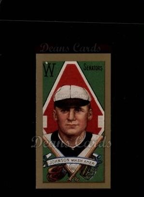 1911 T205 Reprint #96  Walter Johnson