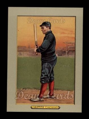 1911 T3 Turkey Red Reprint #17  Clark Griffith