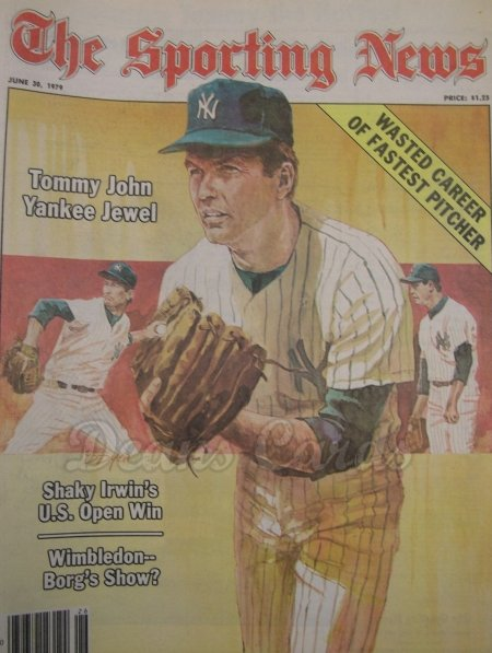 1979 The Sporting News   June 30  - Tommy John / Billy Martin