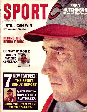 1965 Sport Magazine   -  Fred Hutchinson  February