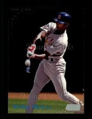 1998 Topps Stadium Club #287  Willie McGee