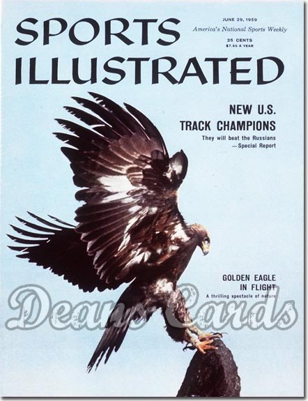 1959 Sports Illustrated - With Label   June 29  -  Golden Eagle