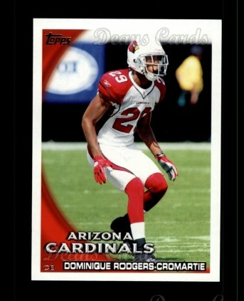 2010 Topps #304  Dominique Rodgers-Cromartie