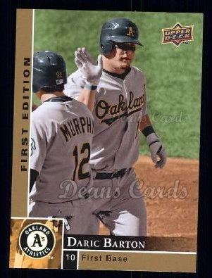2009 Upper Deck First Edition #220  Daric Barton