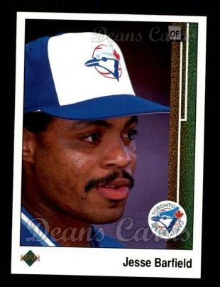 1989 Upper Deck #149  Jesse Barfield