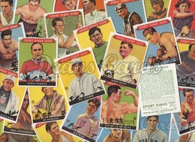 1933 Sport Kings Reprint     Complete Set