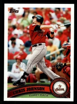 2011 Topps #32  Chris Johnson