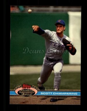 1991 Topps Stadium Club #384  Scott Chiamparino