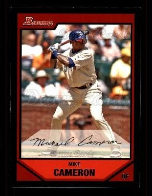 2007 Bowman #40  Mike Cameron