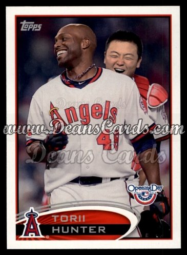 2012 Topps Opening Day #16  Torii Hunter