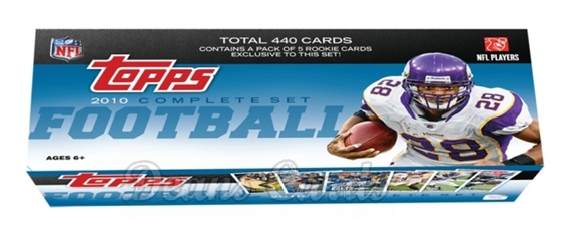 2010 Topps     Football Factory Sealed Complete Hobby Set