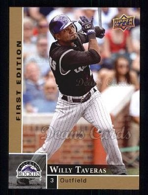 2009 Upper Deck First Edition #98  Willy Taveras