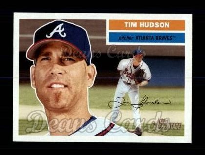 2005 Topps Heritage #353 A Tim Hudson