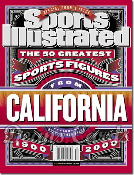 1999 Sports Illustrated - With Label   December 27  -  50 Greatest Texas Sports Figures (Regional Issue)