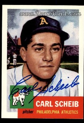 1991 Topps 1953 Archives #57  Carl Scheib