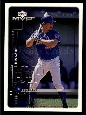 1999 Upper Deck MVP #136  Mike Kinkade