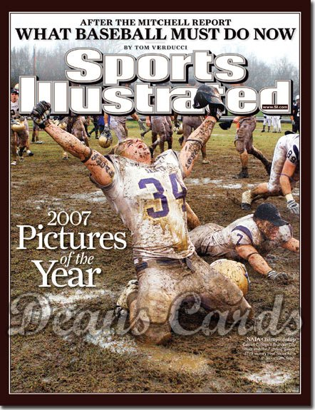 2007 Sports Illustrated - With Label   December 24  -  Brandon Day Carroll College Fighting Saints Football