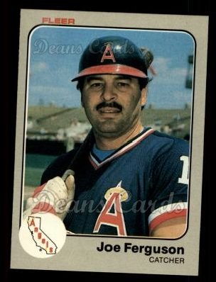 1983 Fleer #87  Joe Ferguson