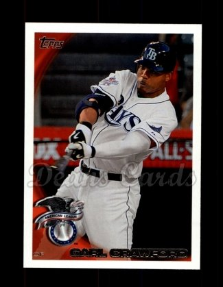 2010 Topps Update #170  Carl Crawford
