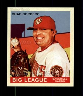 2007 Upper Deck Goudey Red Backs #25  Chad Cordero