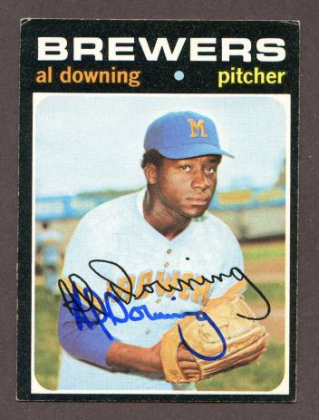 1971 Topps #182  Al Downing