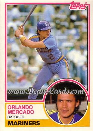 1983 Topps Traded #71 T Orlando Mercado