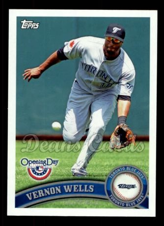 2011 Topps Opening Day #212  Vernon Wells