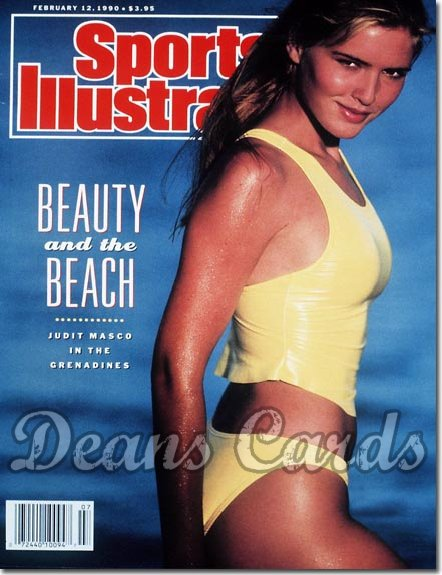 1990 Sports Illustrated - With Label   February 12  -  Judit Masco Swimsuit Issue