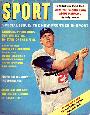 1961 Sport Magazine   -  Frank Howard  April