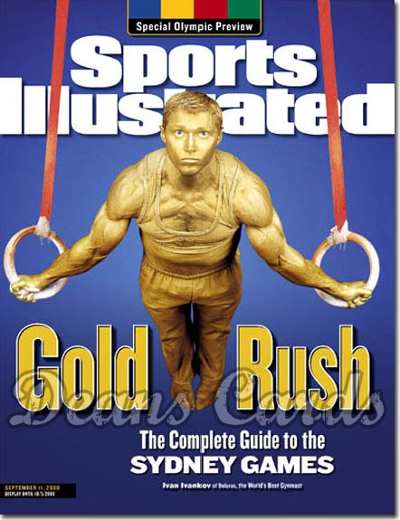 2000 Sports Illustrated - With Label   September 11  -  Ivan Ivankov (Gymnast) (Olympic Preview)