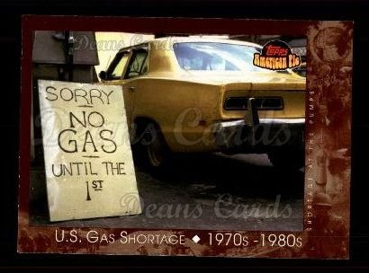 2001 Topps American Pie #134   U.S. Gas Shortage
