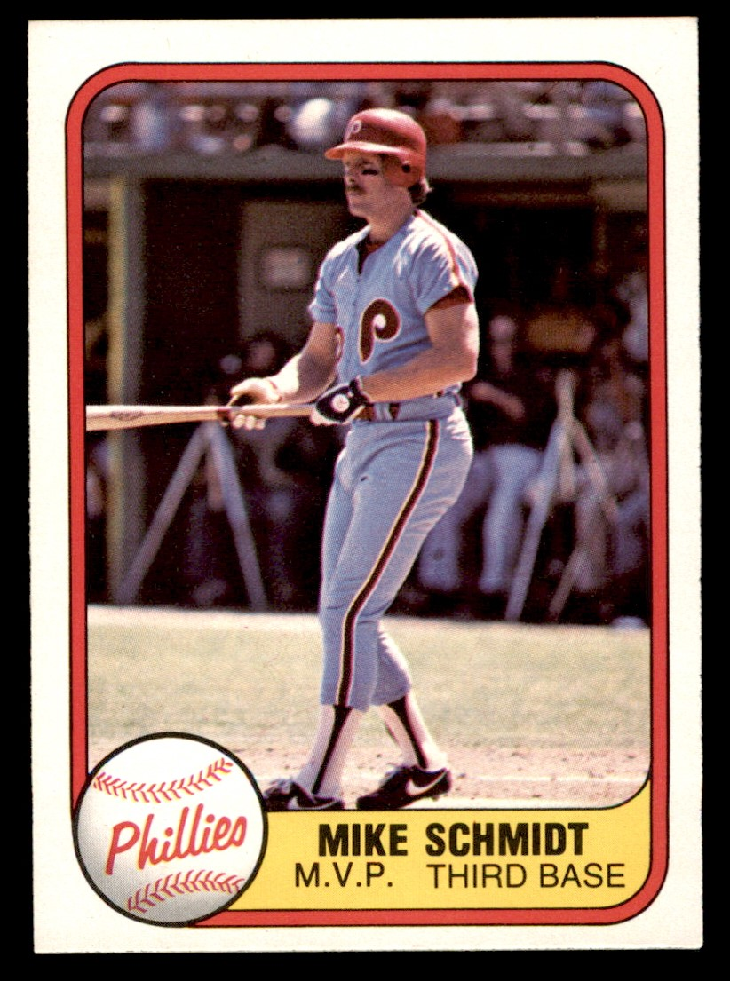 1981 Fleer #5   -  Mike Schmidt MVP