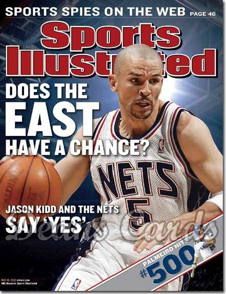 2003 Sports Illustrated   May 19  -  Jason Kidd (New Jersey Nets)