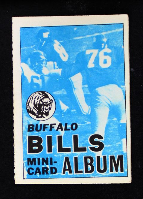 1969 Topps 4-in-1 Football Stamp Albums NO  Buffalo Bills