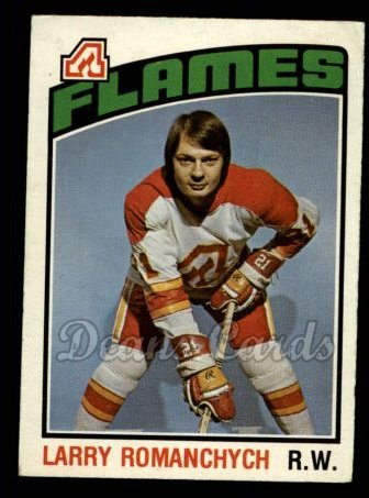 1976 O-Pee-Chee NHL #281  Larry Romanchych