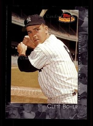 2001 Topps American Pie #16  Clete Boyer