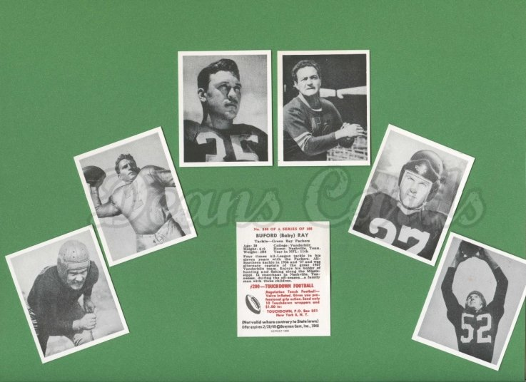 1948 Bowman REPRINT    Bowman Football Reprint Complete Set