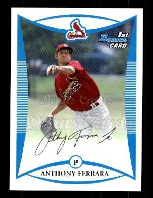 2008 Bowman Draft Prospect #19 BDPP Anthony Ferrara