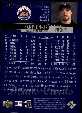 2000 Upper Deck #436  Mike Hampton