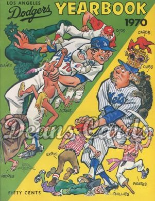 1970 Los Angeles Yearbook - and Mets mascots